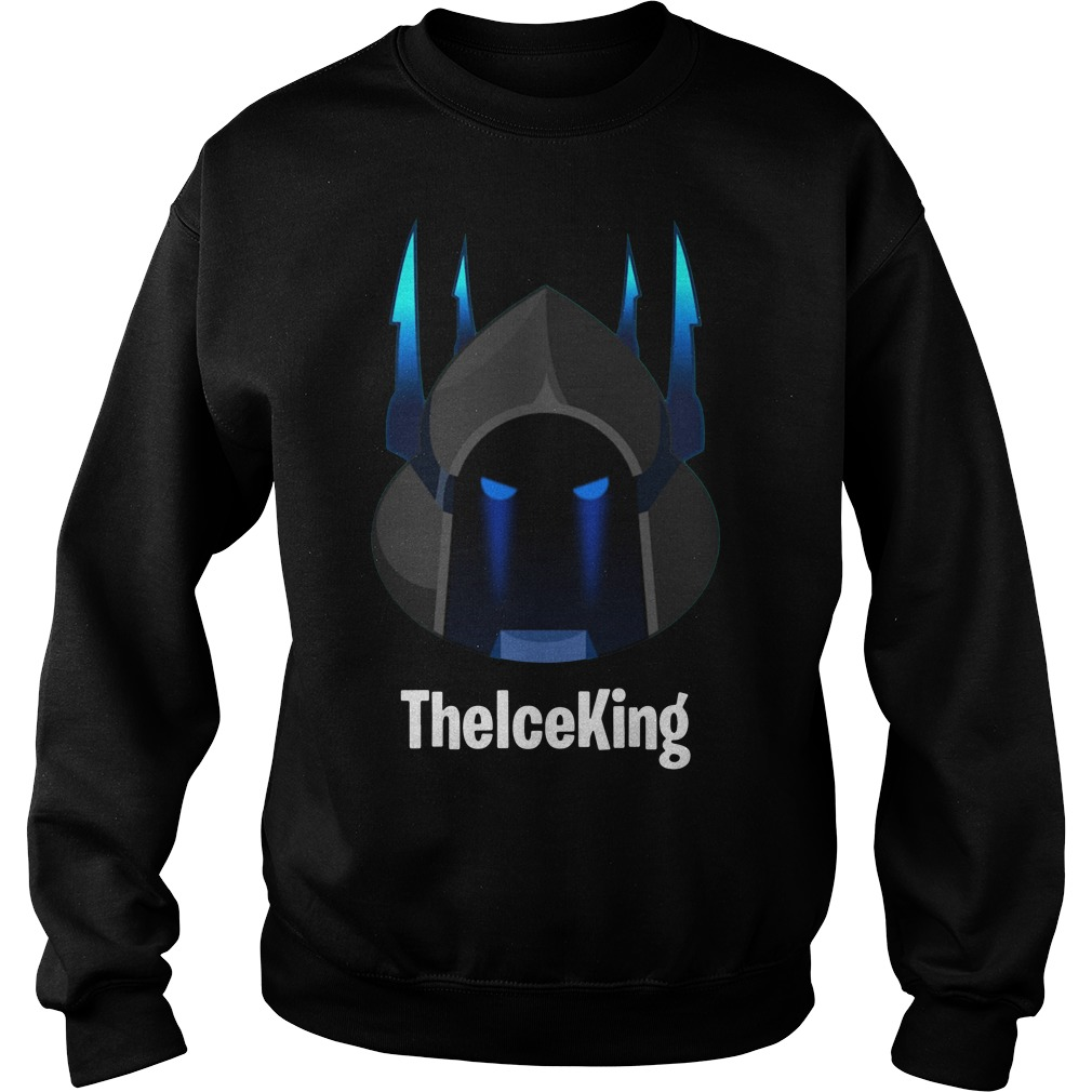Custom Fortnite Season 7 The Ice King Sweater
