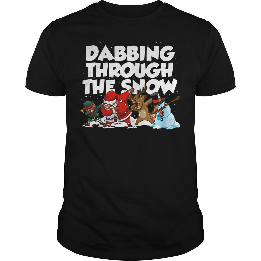 Irish Dabbing Through The Snow shirt