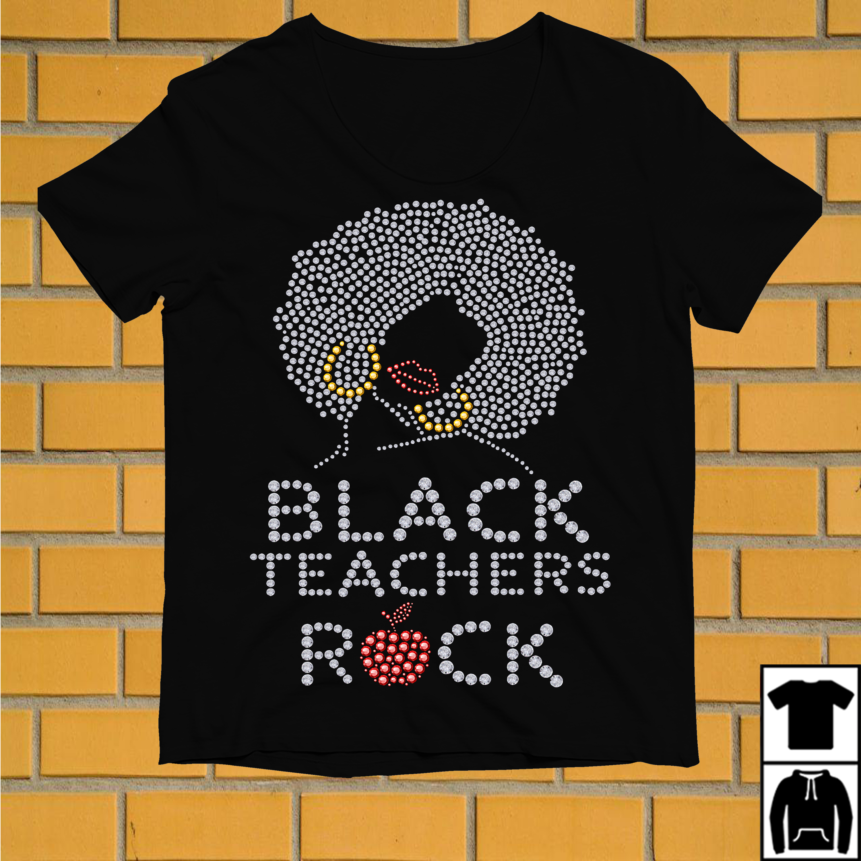 Diamond Black teachers rock shirt
