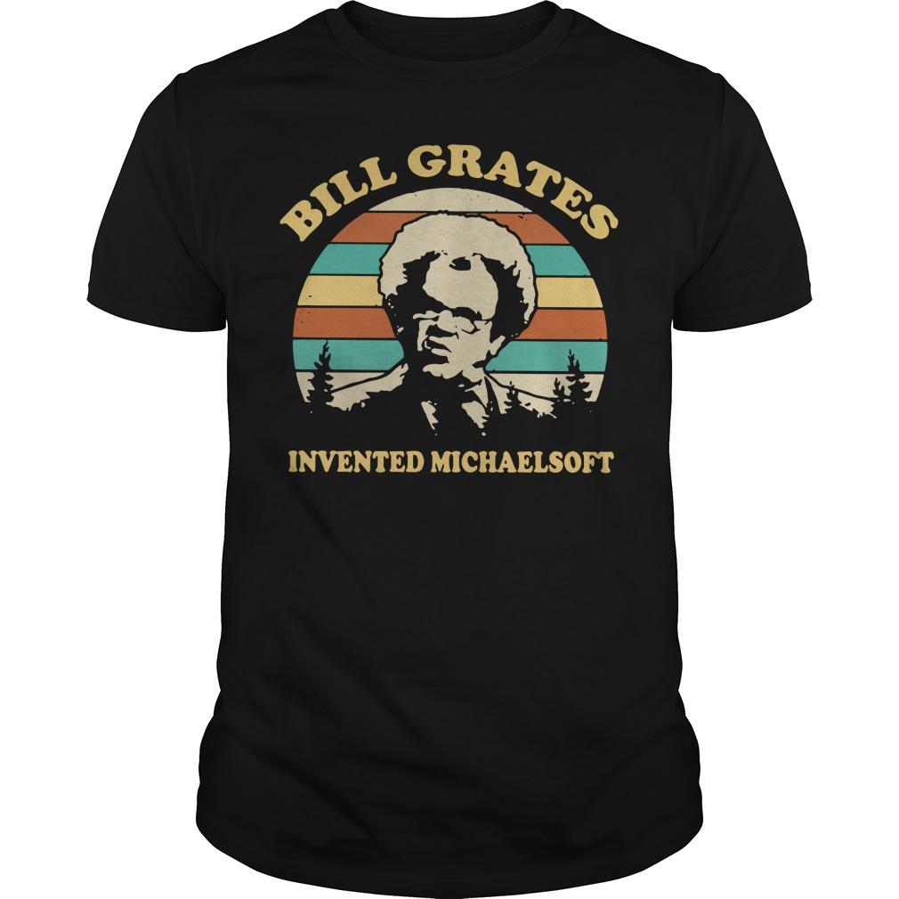 Dr Steve Brule Bill grates invented michaelsoft vintage Guys shirt