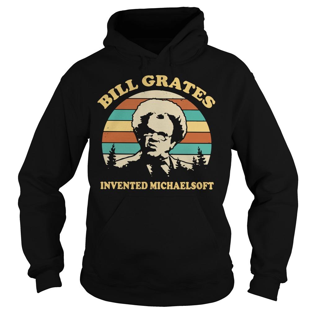Dr Steve Brule Bill grates invented michaelsoft vintage Hoodie
