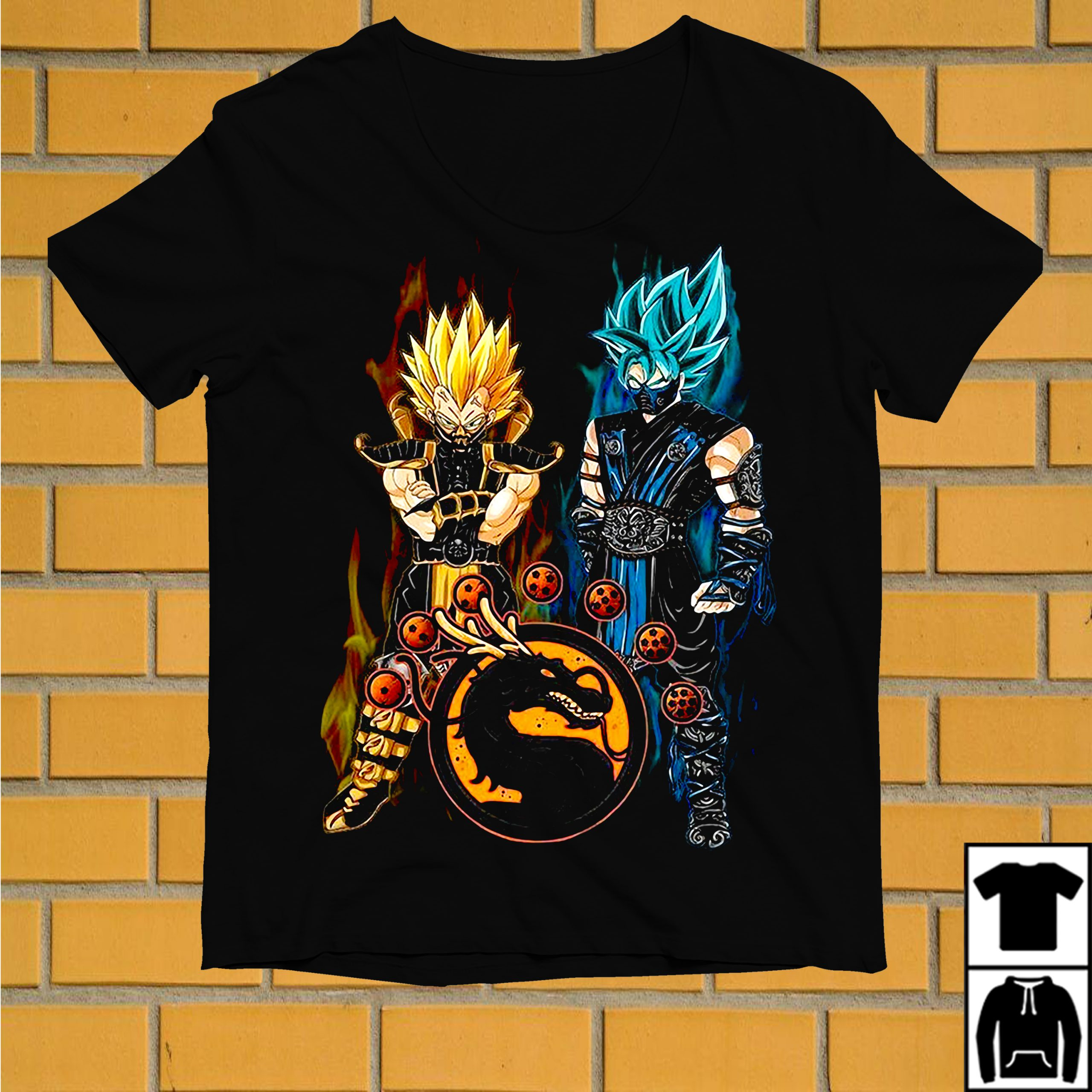 Dragon ball Son Goku and Vegeta shirt