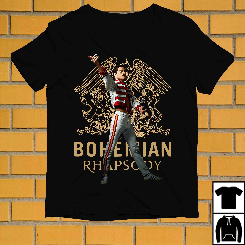 Freddie Mercury Bohemian Rhapsody queen shirt
