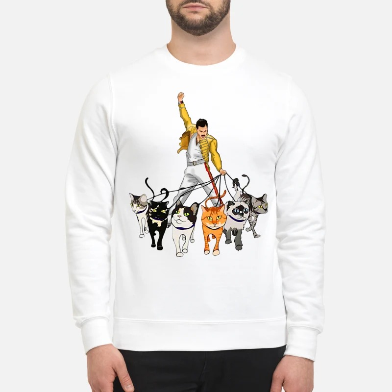 Freddie Mercury with his cats Sweater