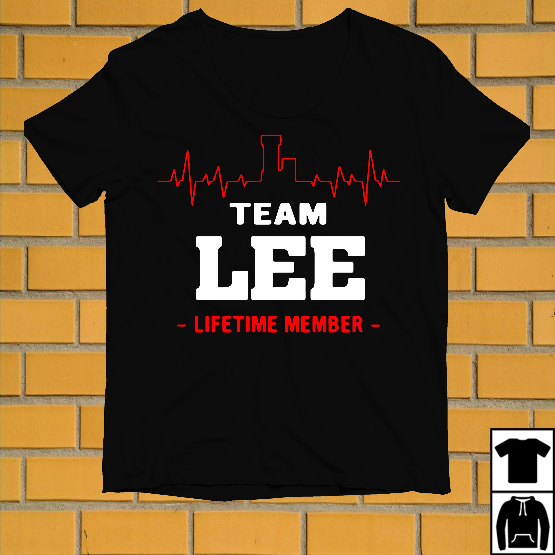 Heartbeat L team Lee lifetime member shirt