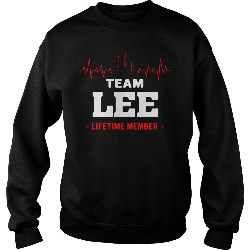 Heartbeat L team Lee lifetime member Sweater