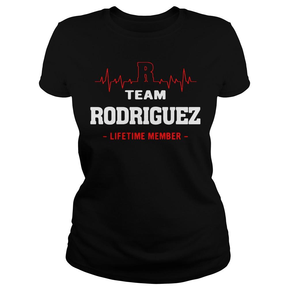 Heartbeat R team Rodriguez lifetime member Ladies Tee