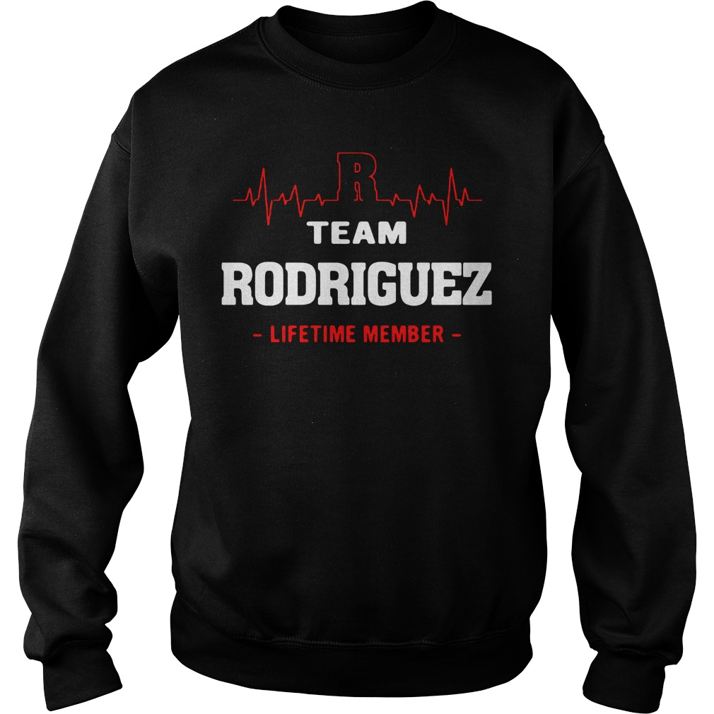 Heartbeat R team Rodriguez lifetime member Sweater