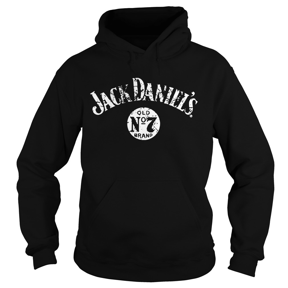 Jack Daniel's QLD No7 brand Hoodie