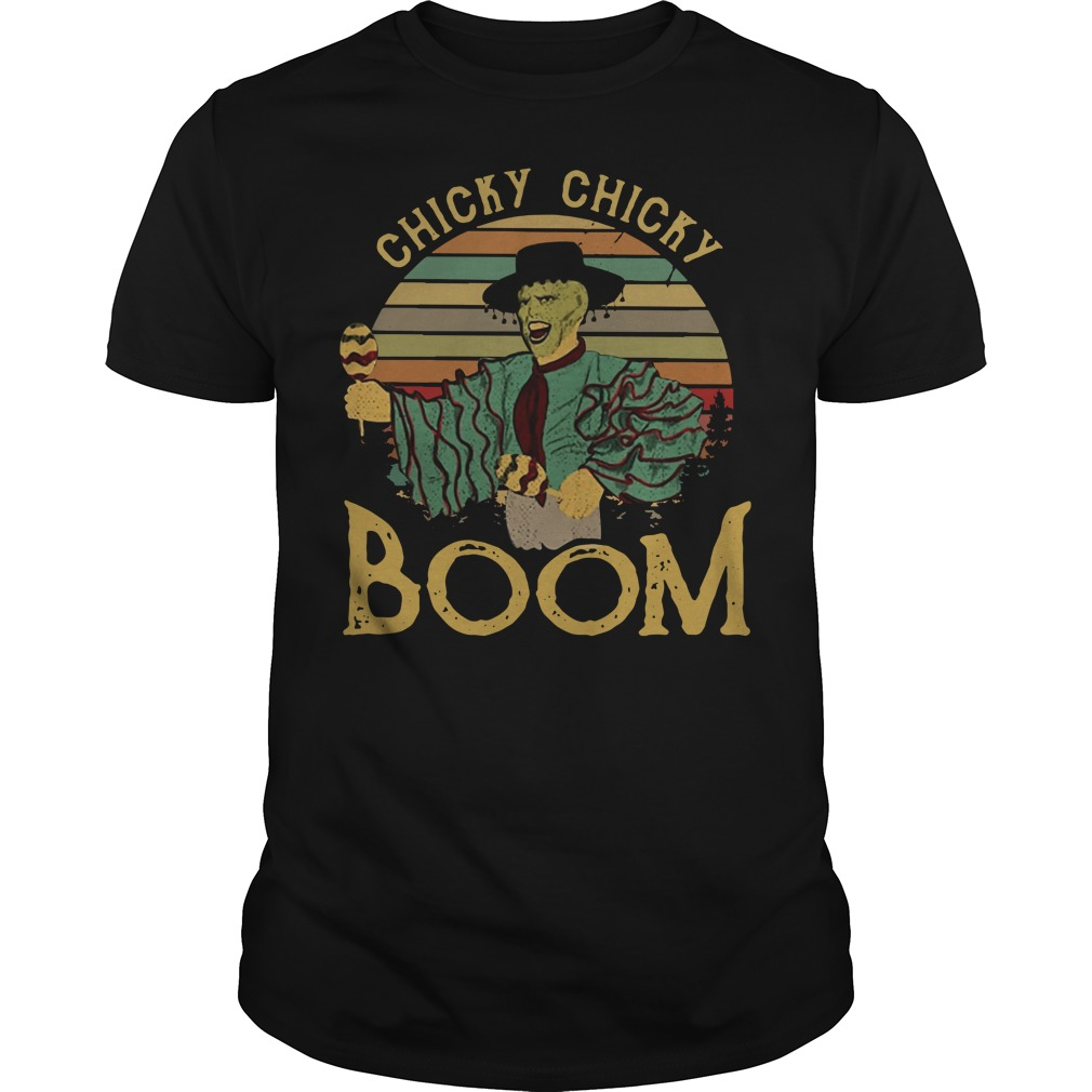 Jim Carrey chick chicky boom vintage Guys shirt