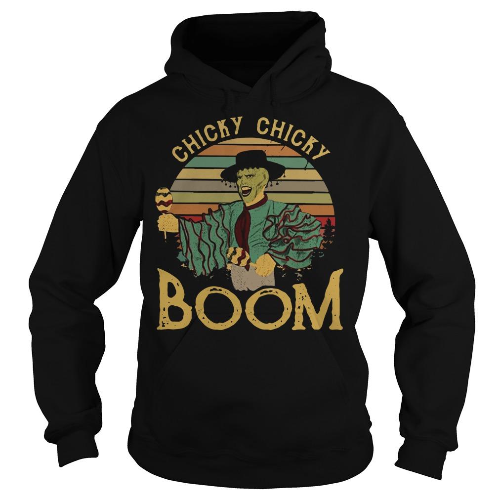 Jim Carrey chick chicky boom vintage Hoodie