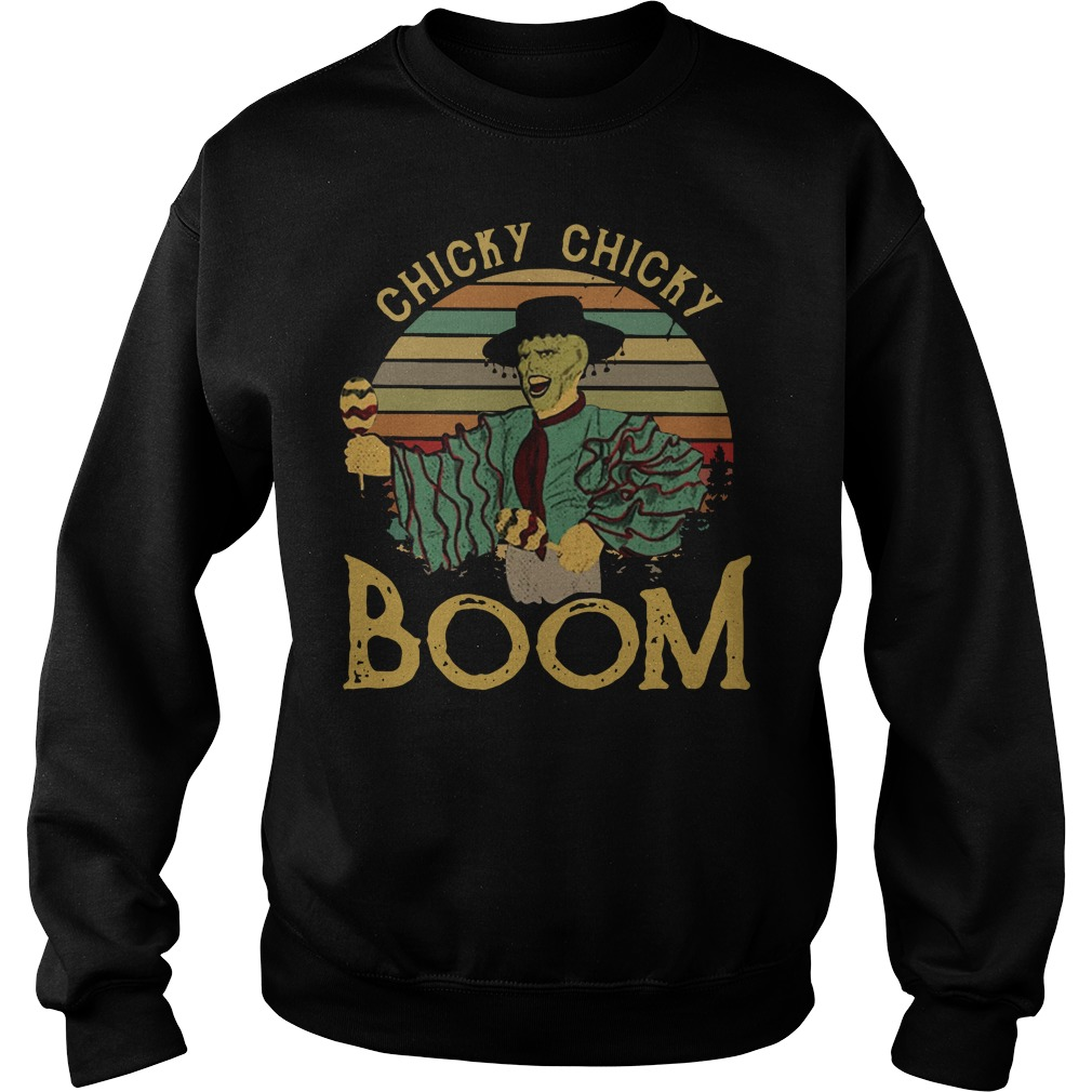 Jim Carrey chick chicky boom vintage Sweater