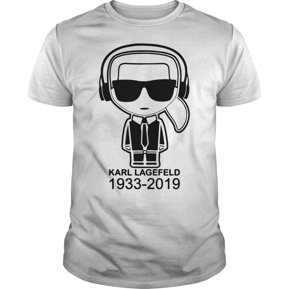 Karl Lagerfeld 1933 2019 Guys Shirt