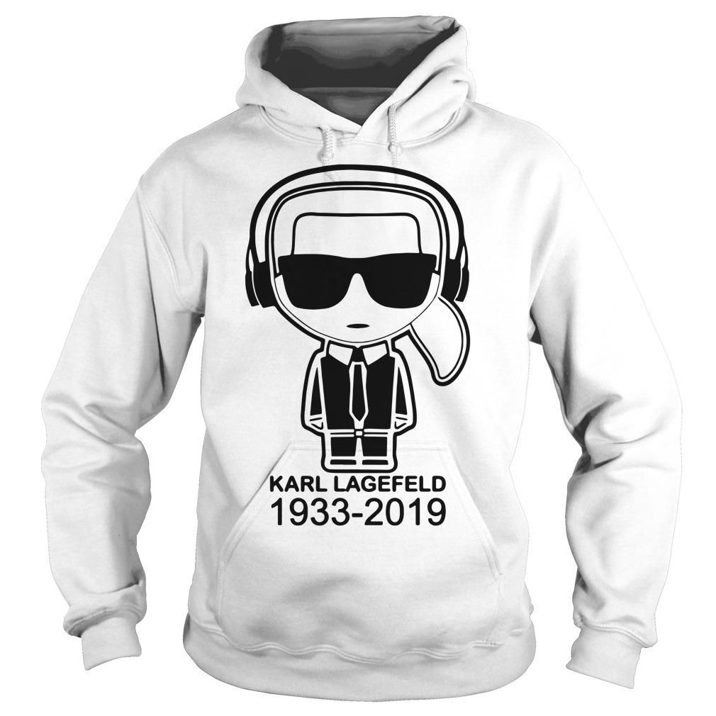 Karl Lagerfeld 1933 2019 Hoodie