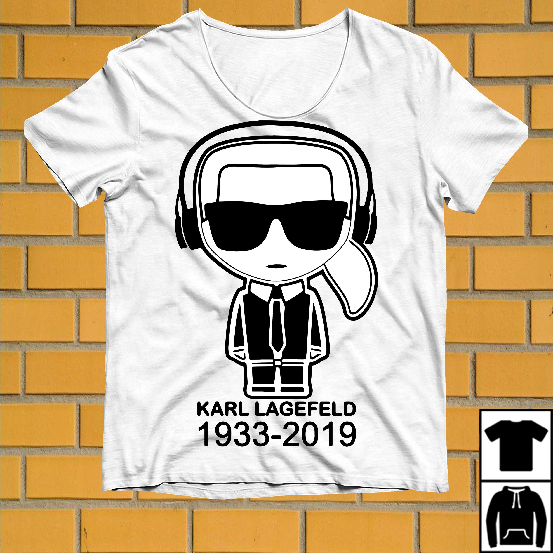 Karl Lagerfeld 1933 2019 Ikonik embroidered shirt
