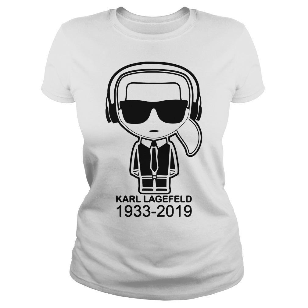 Karl Lagerfeld 1933 2019 Ladies tee