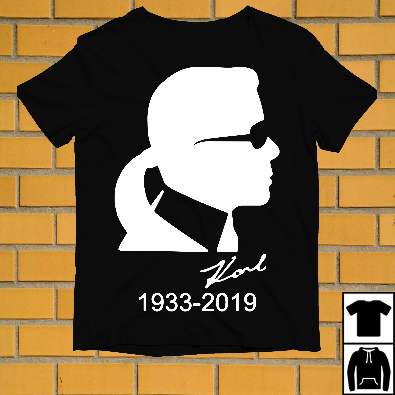 Karl Lagerfeld 1933 2019 shirt