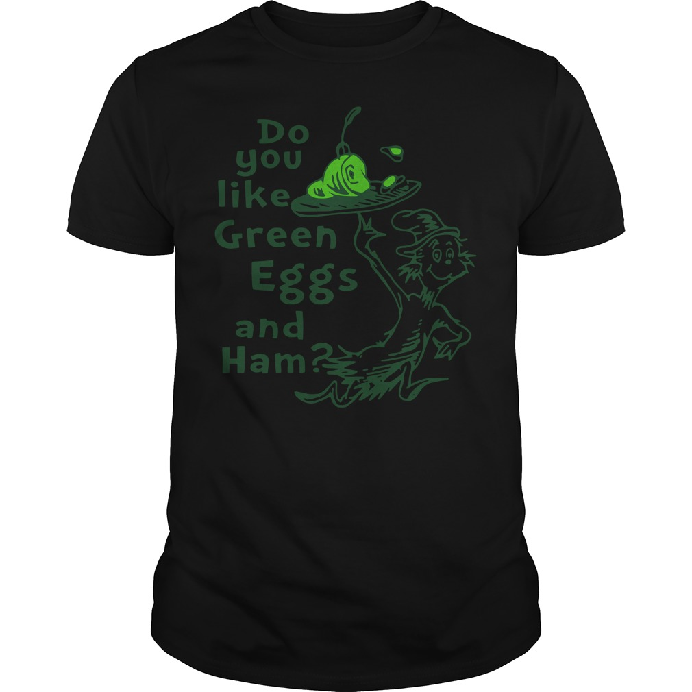 Do you like Green Eggs and Ham St Patrick's day Guys shirt