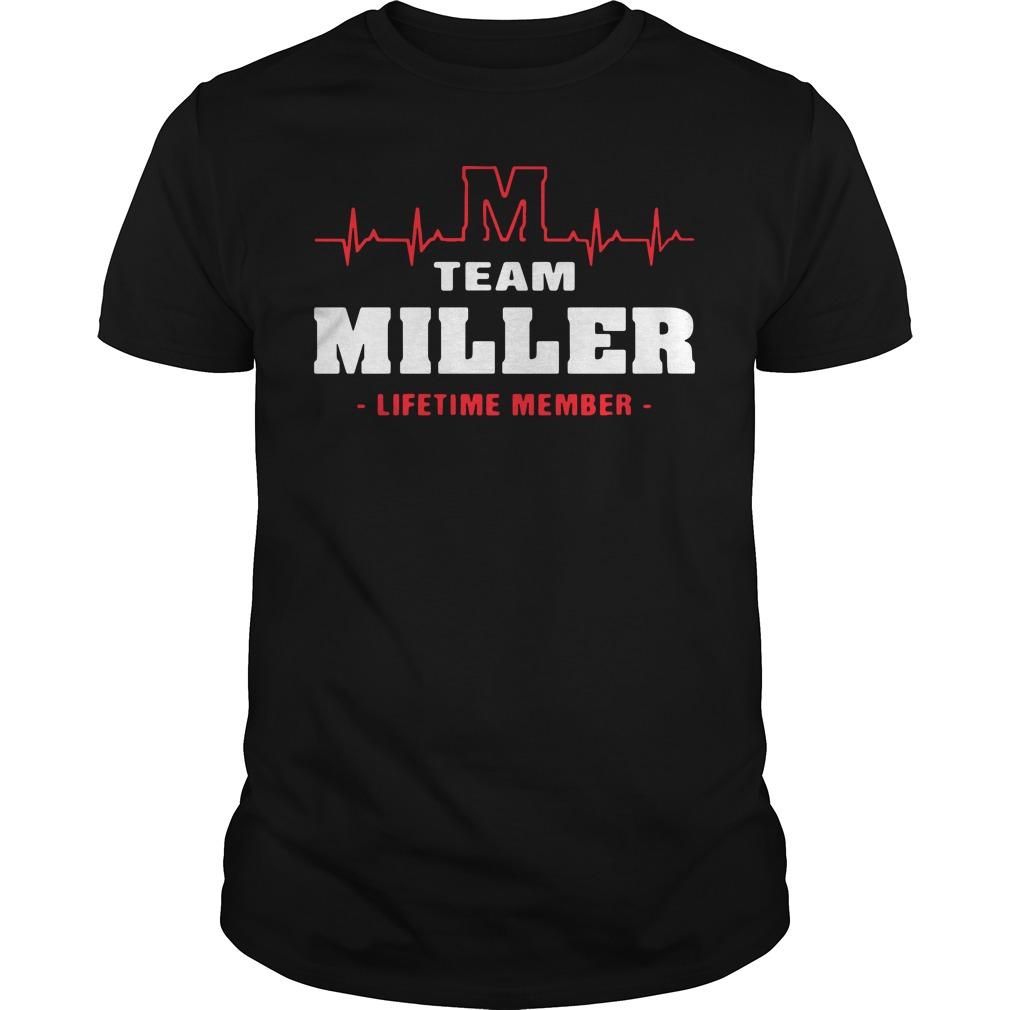 M team miller lifetime member shirt
