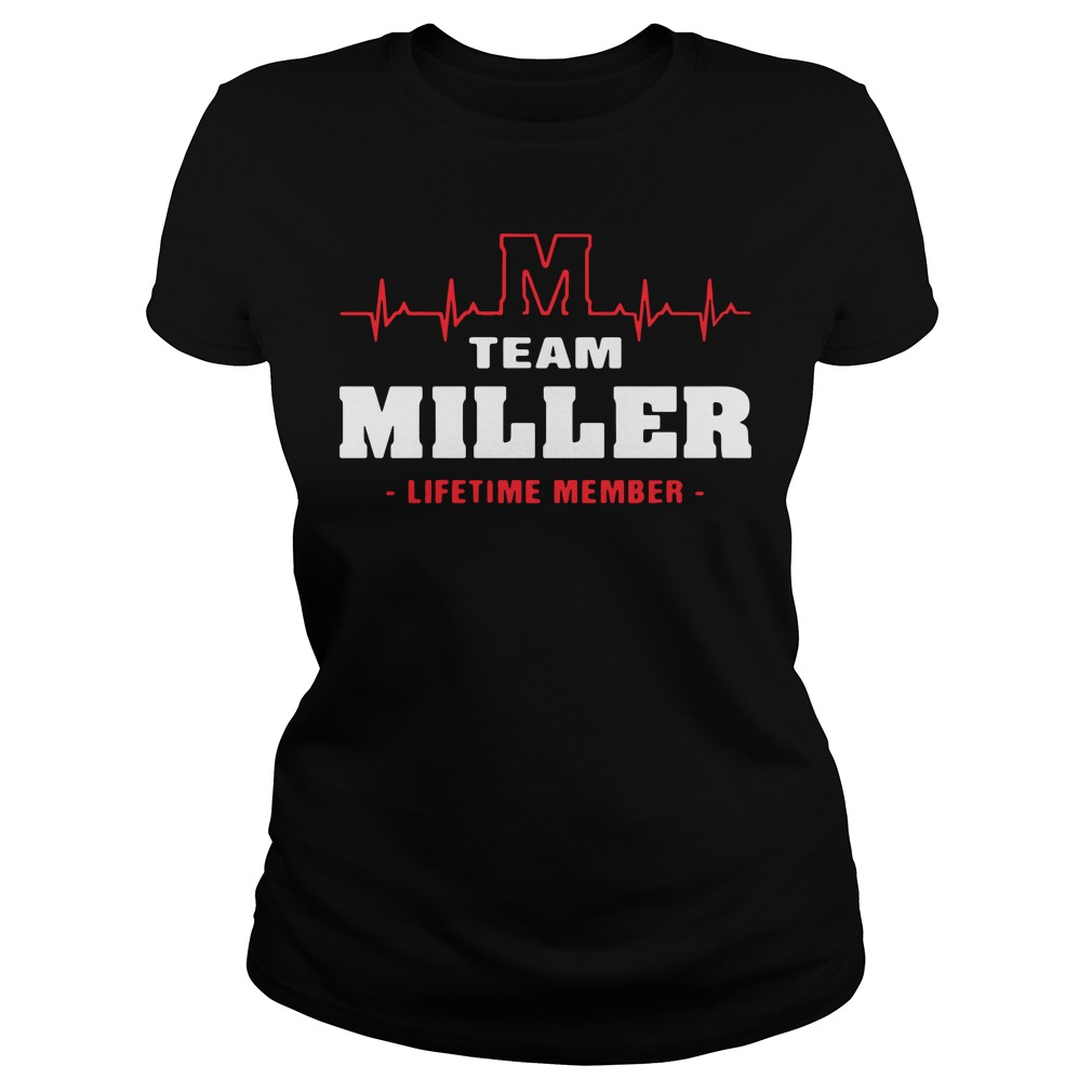 M team miller lifetime member Ladies Tee