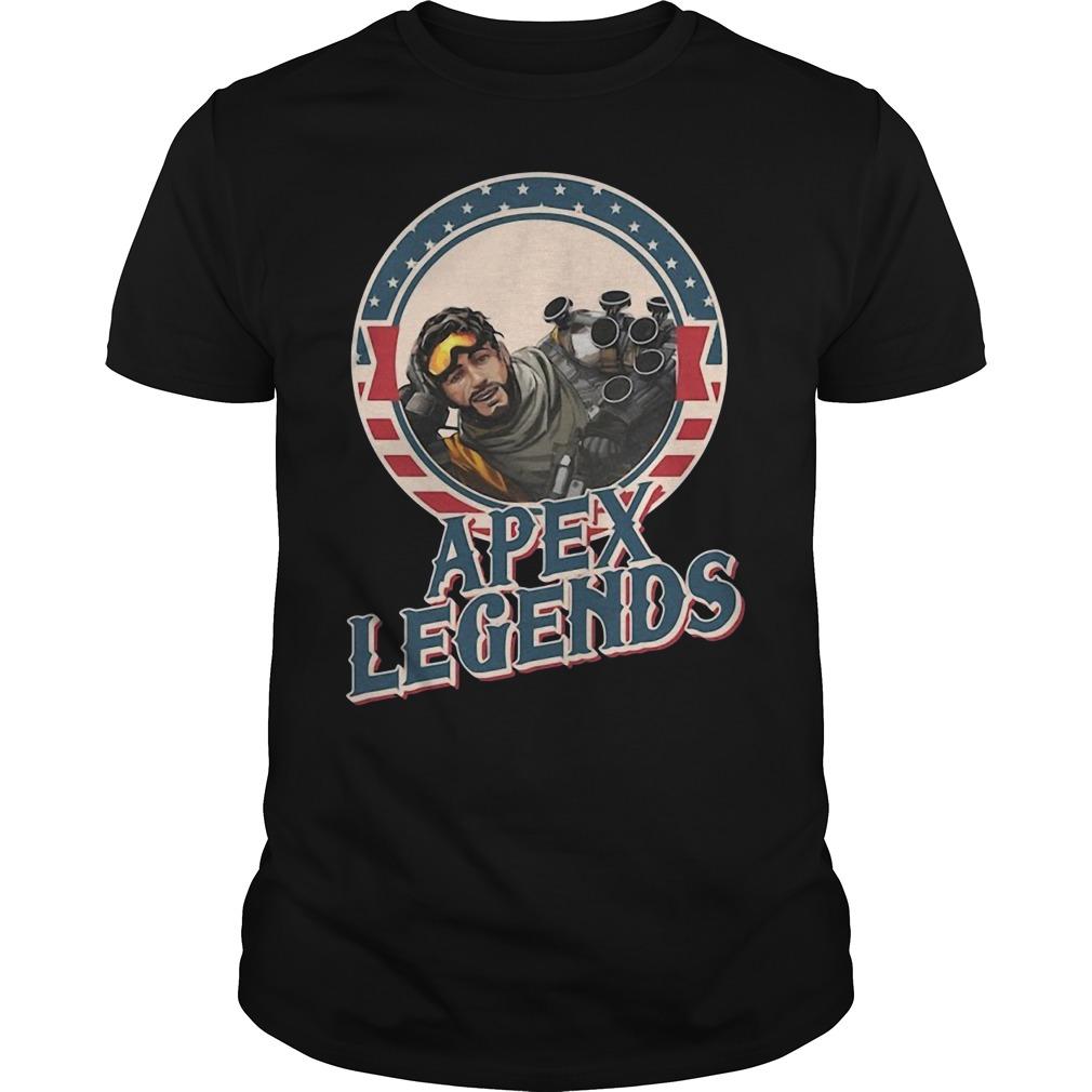 Mirage Apex Legends Guys Shirt