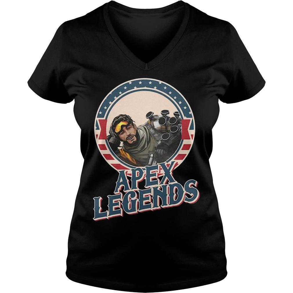 Mirage Apex Legends V-neck T-shirt