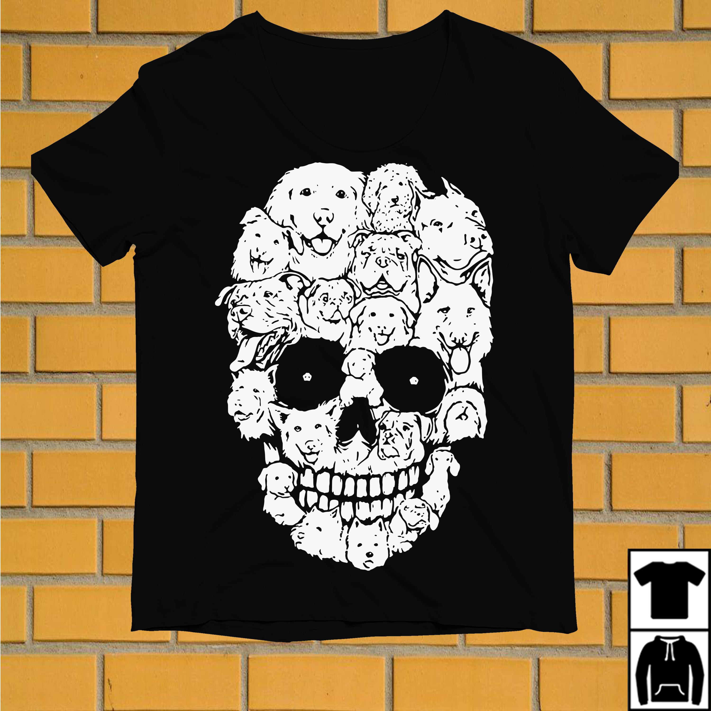 Official Dogs make skull shirt