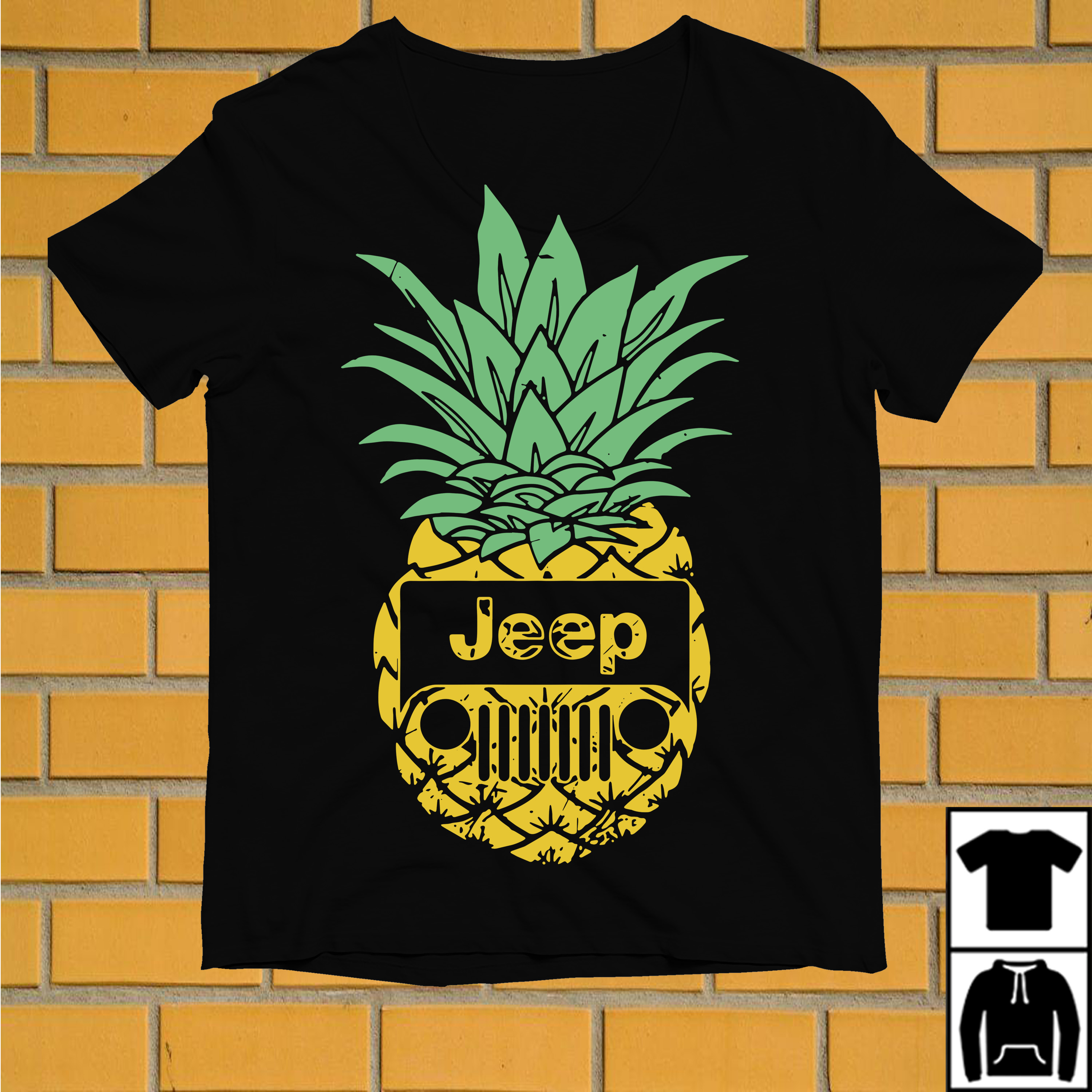 Oficial Pineapple jeep shirt