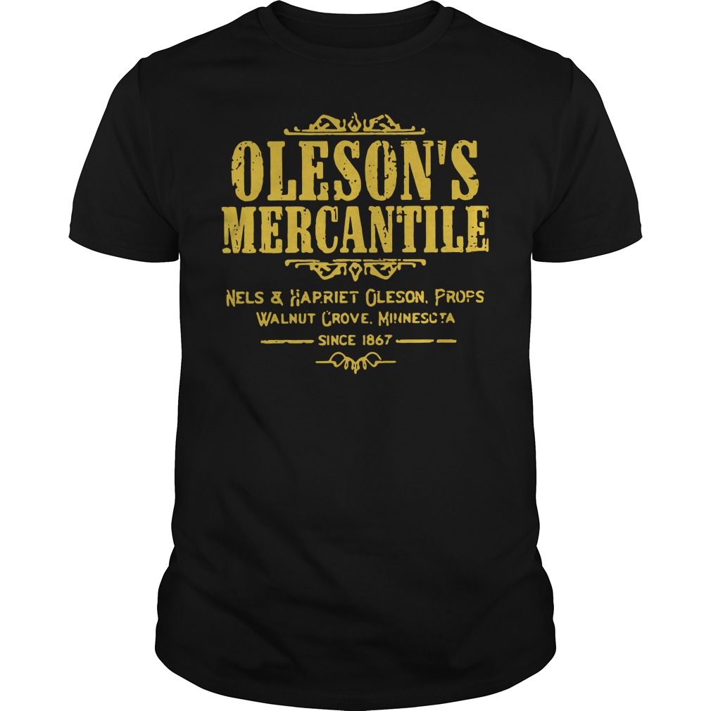 Oleson's mercantile nels and harriet Oleson props walnut grove Guys Shirt