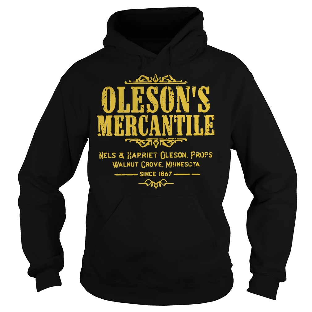 Oleson's mercantile nels and harriet Oleson props walnut grove Hoodie