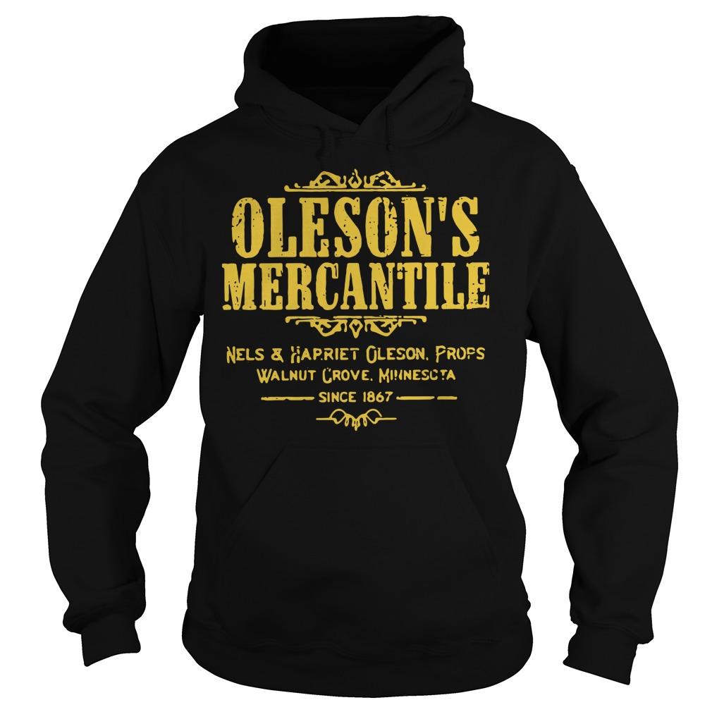 Oleson's mercantile nels and harriet Oleson props walnut grove Hoodie