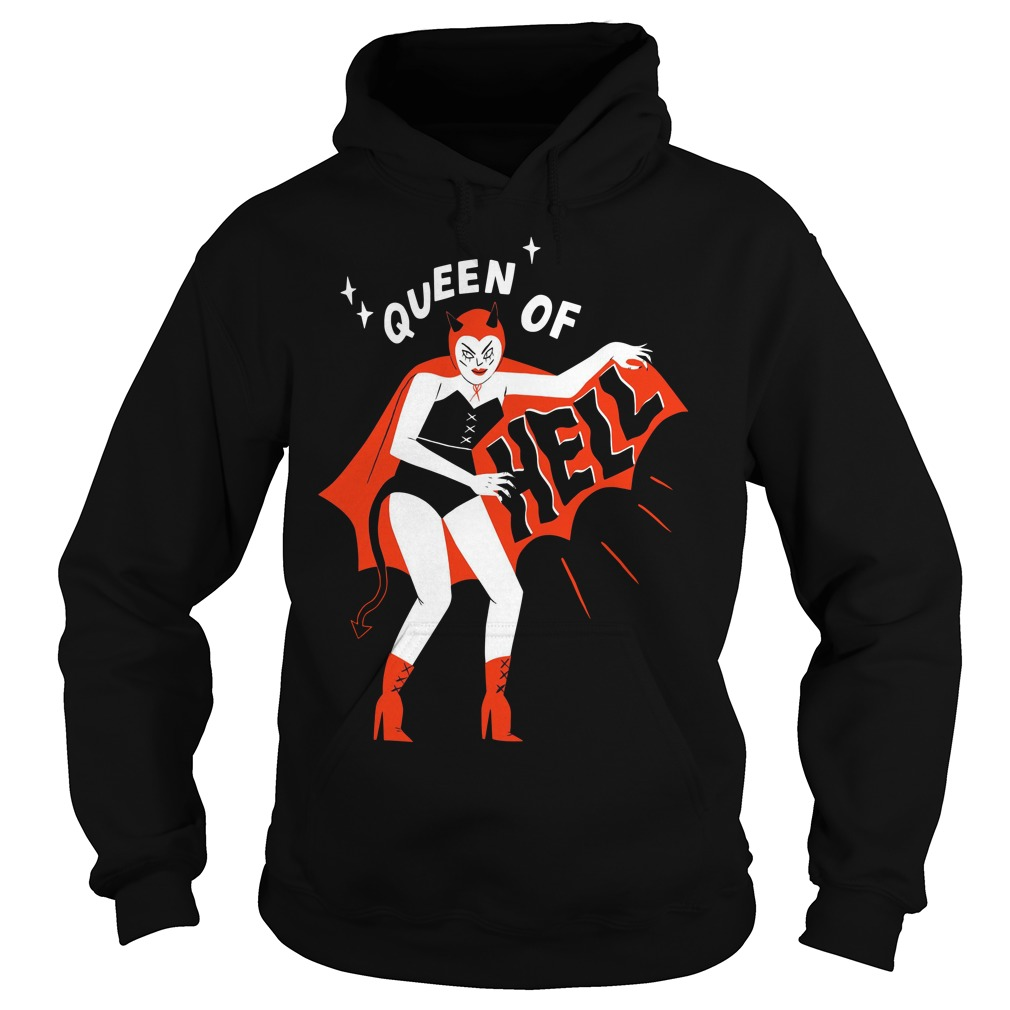 Pinup Succubus Queen of hell Hoodie