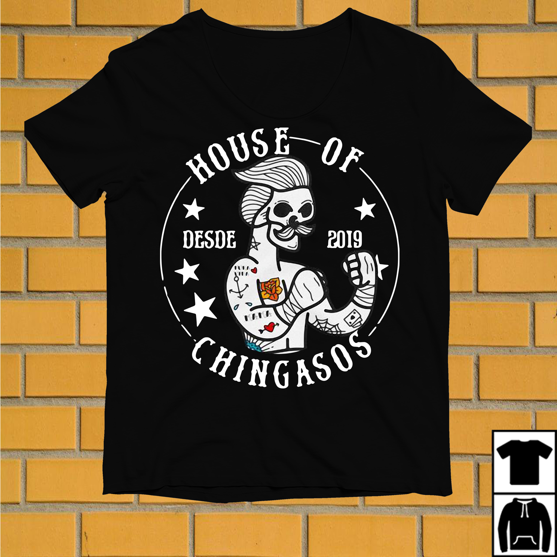 Skull House of desde 2019 Chingasos shirt