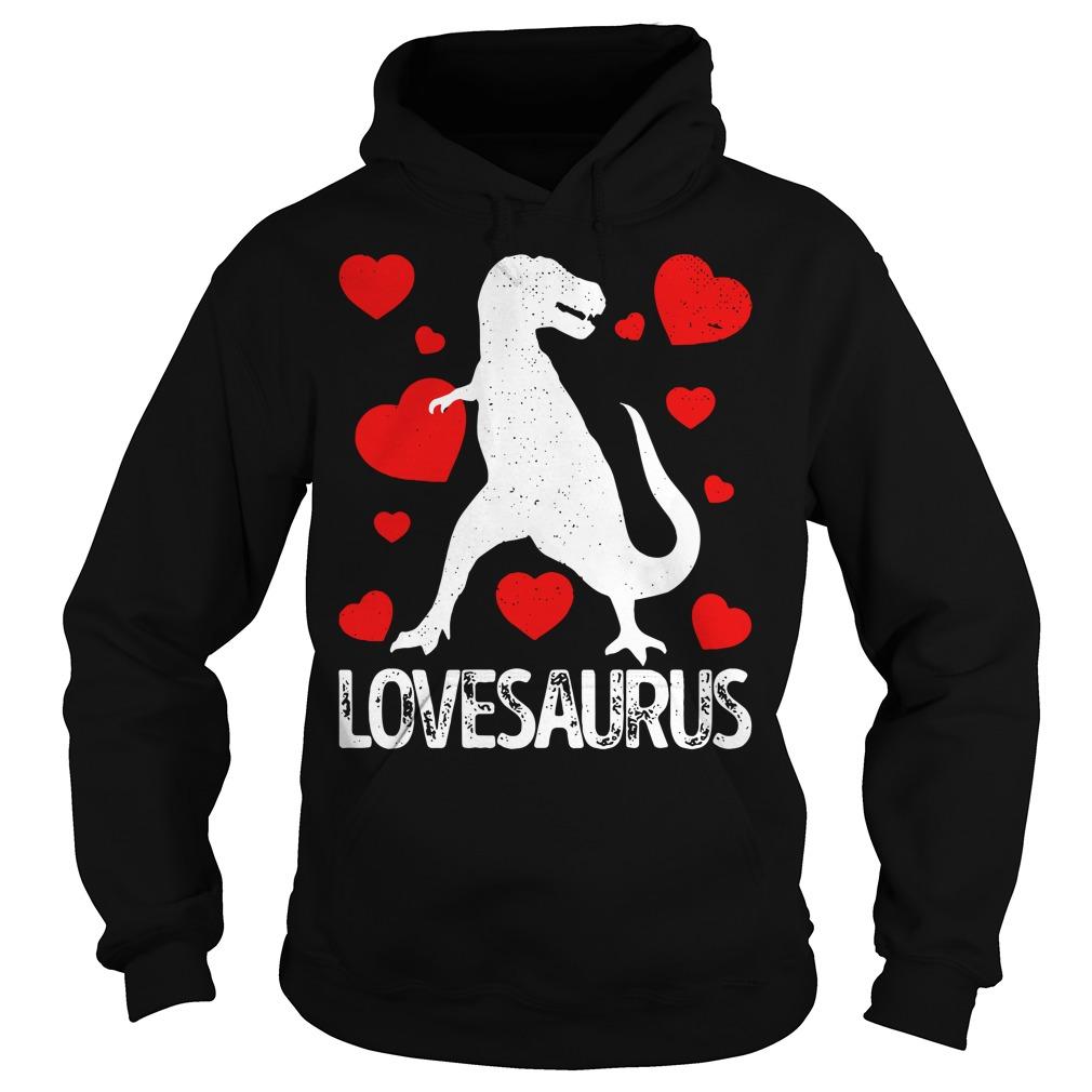 T-rex Love Saurus Hoodie