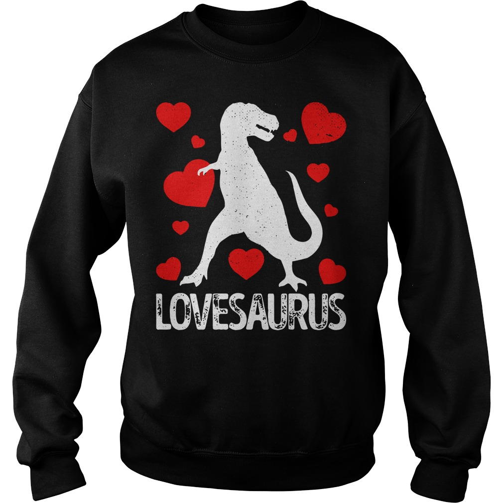 T-rex Love Saurus Sweater