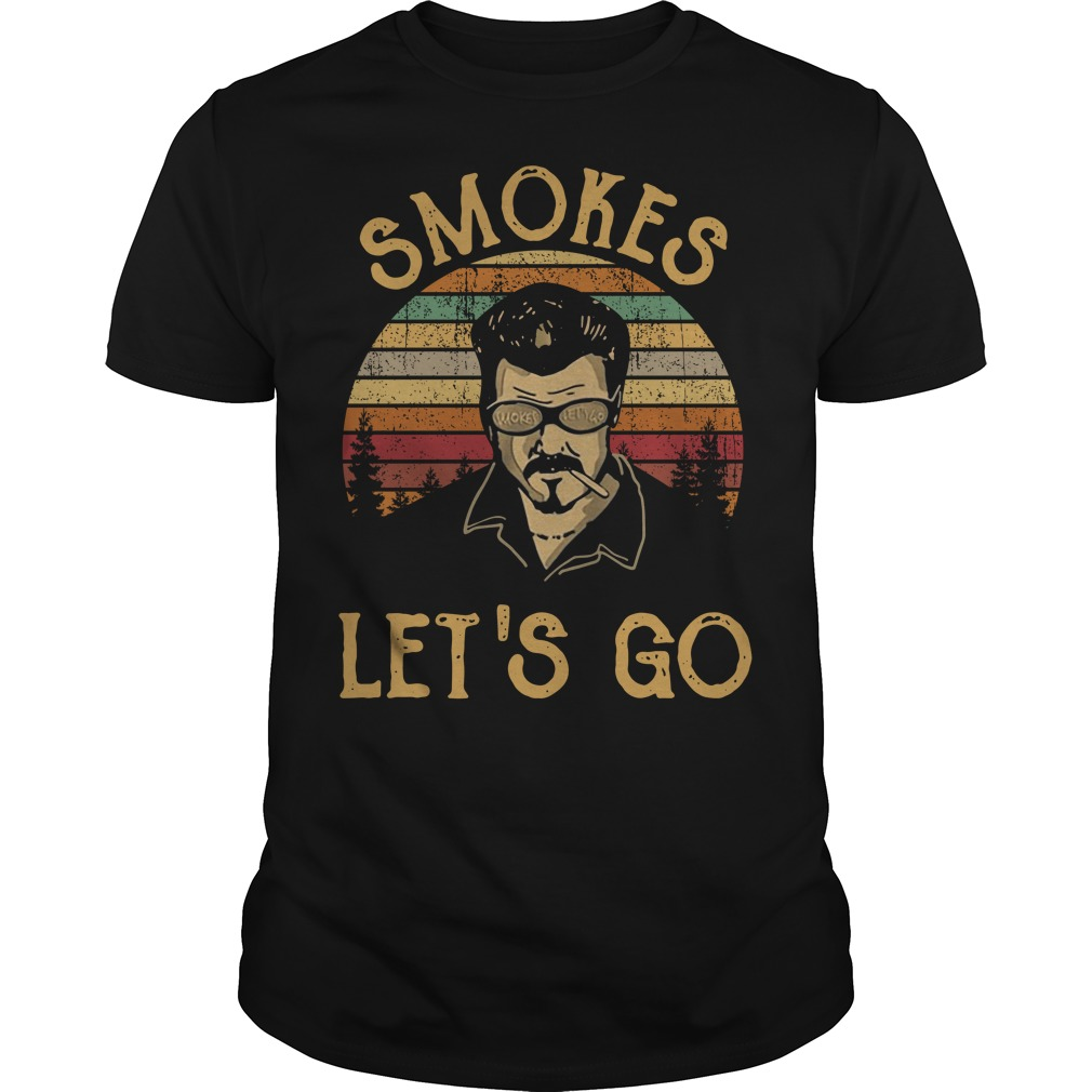 Trailer Park boys smokes let's go vintage Guys shirt