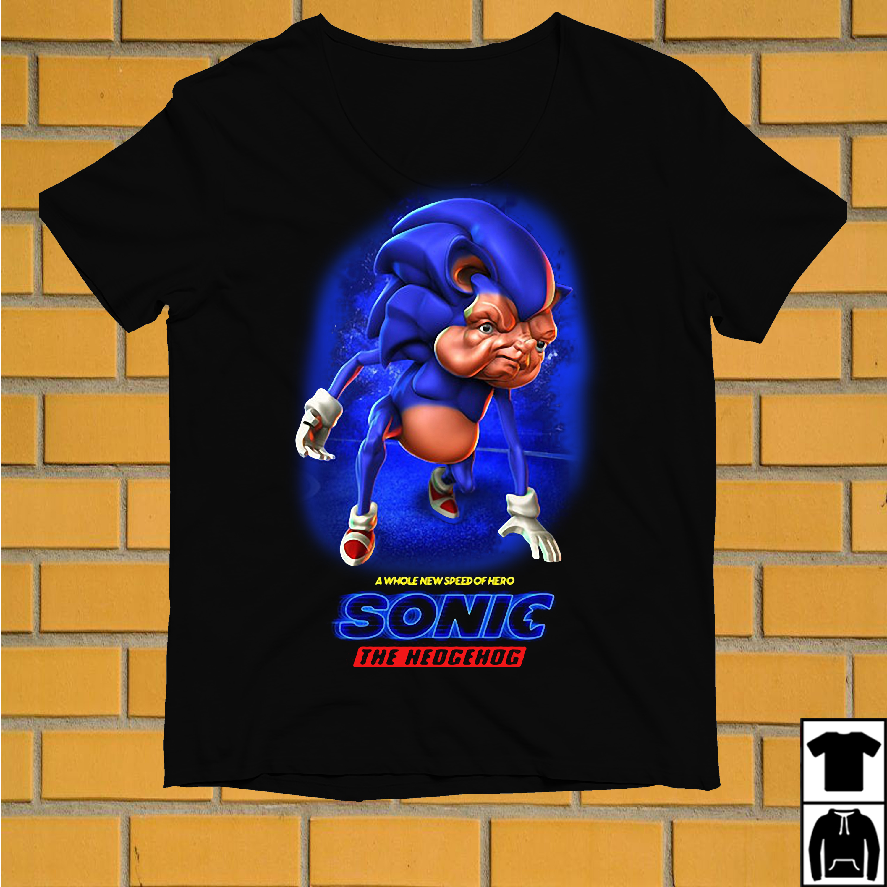 A whole new speed of hero Sonic the hedgehog shirt