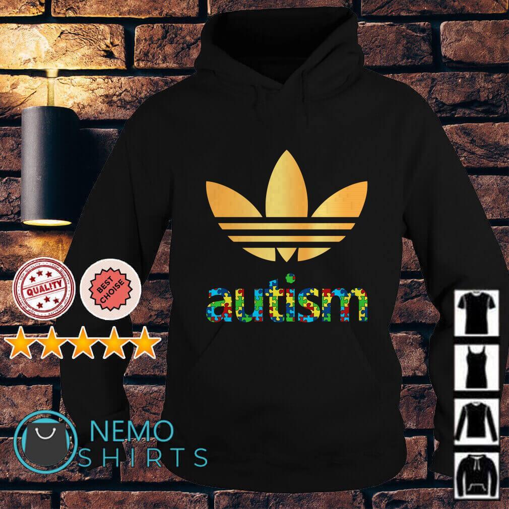 Autism Adidas Logo Autism Awareness Hoodie