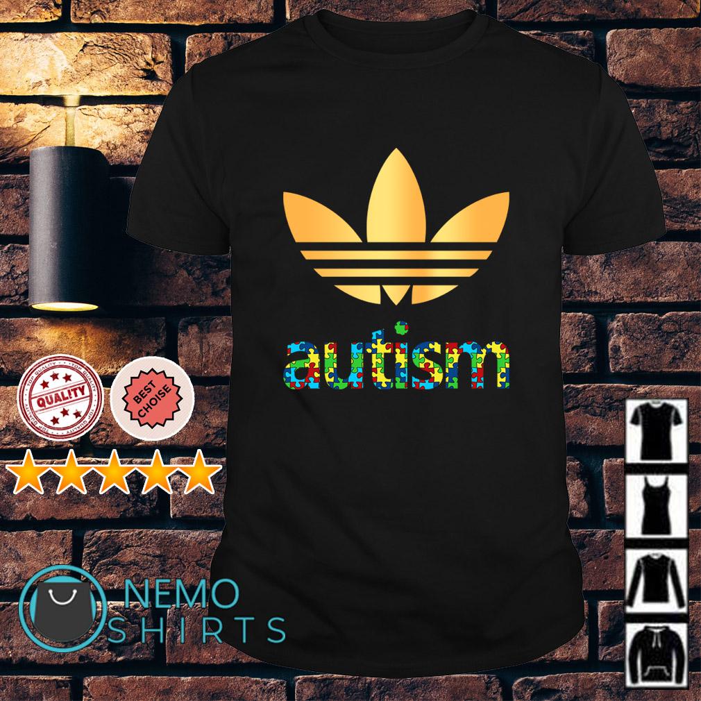 Autism Adidas Logo Autism Awareness shirt