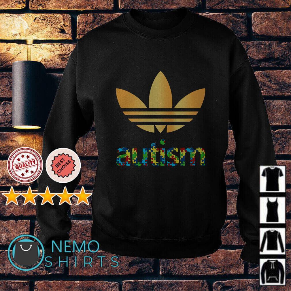Autism Adidas Logo Autism Awareness Sweater