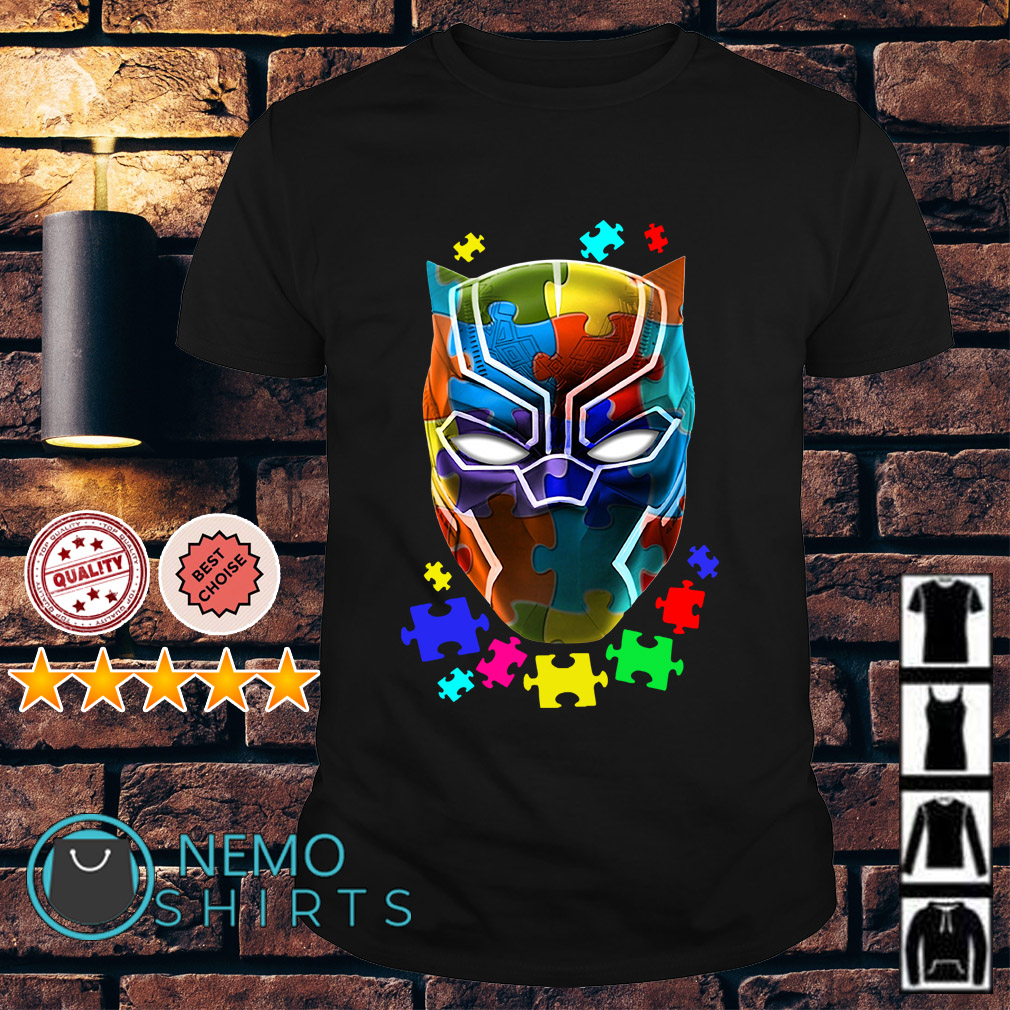 Autism Awareness Black Panther shirt