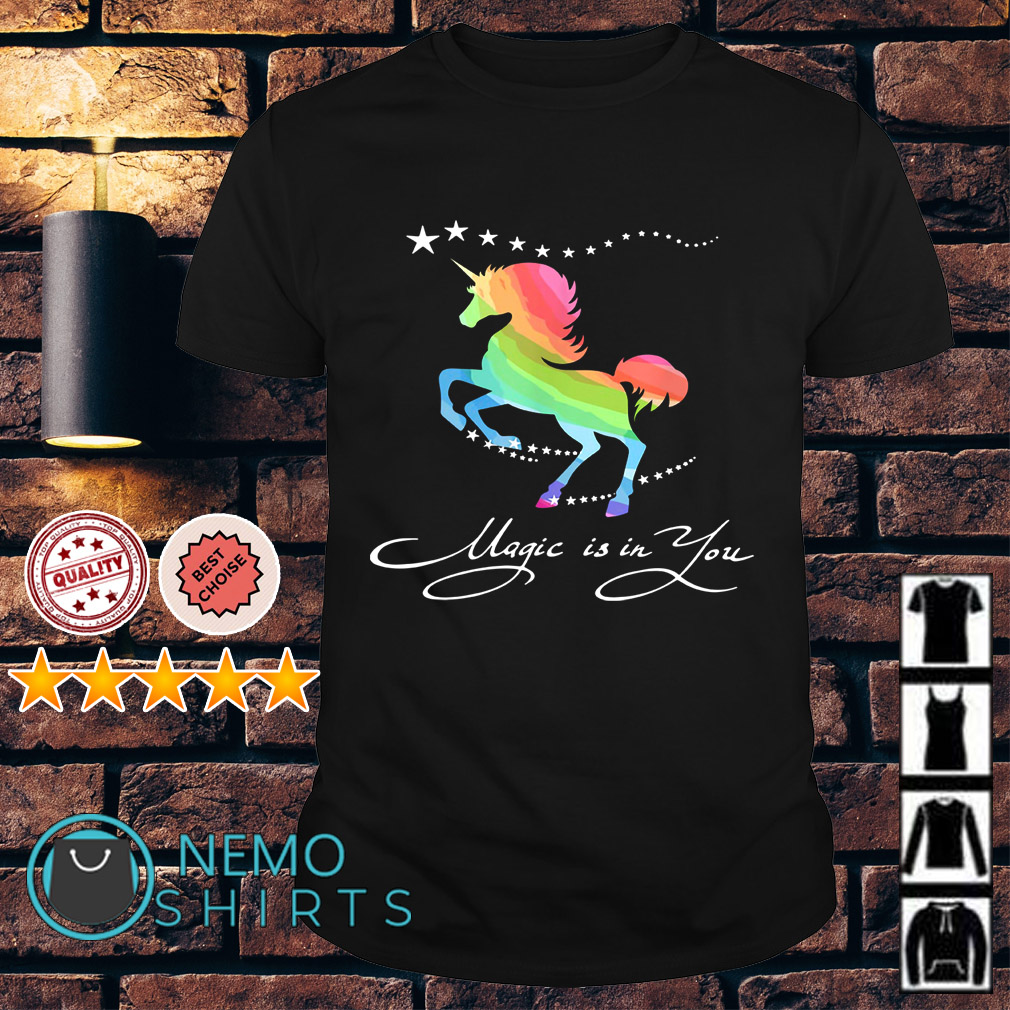 Autism Horse magic is in you shirt