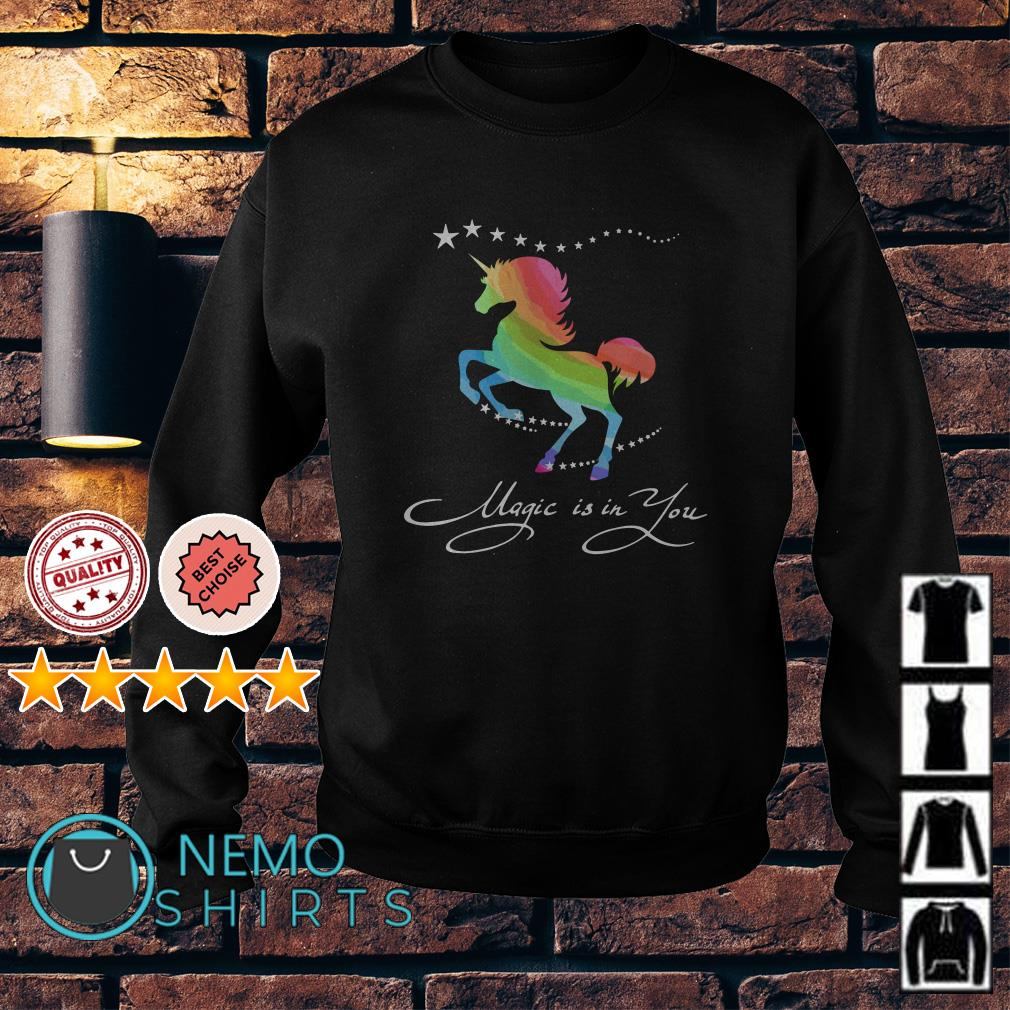 Autism Horse magic is in you Sweater