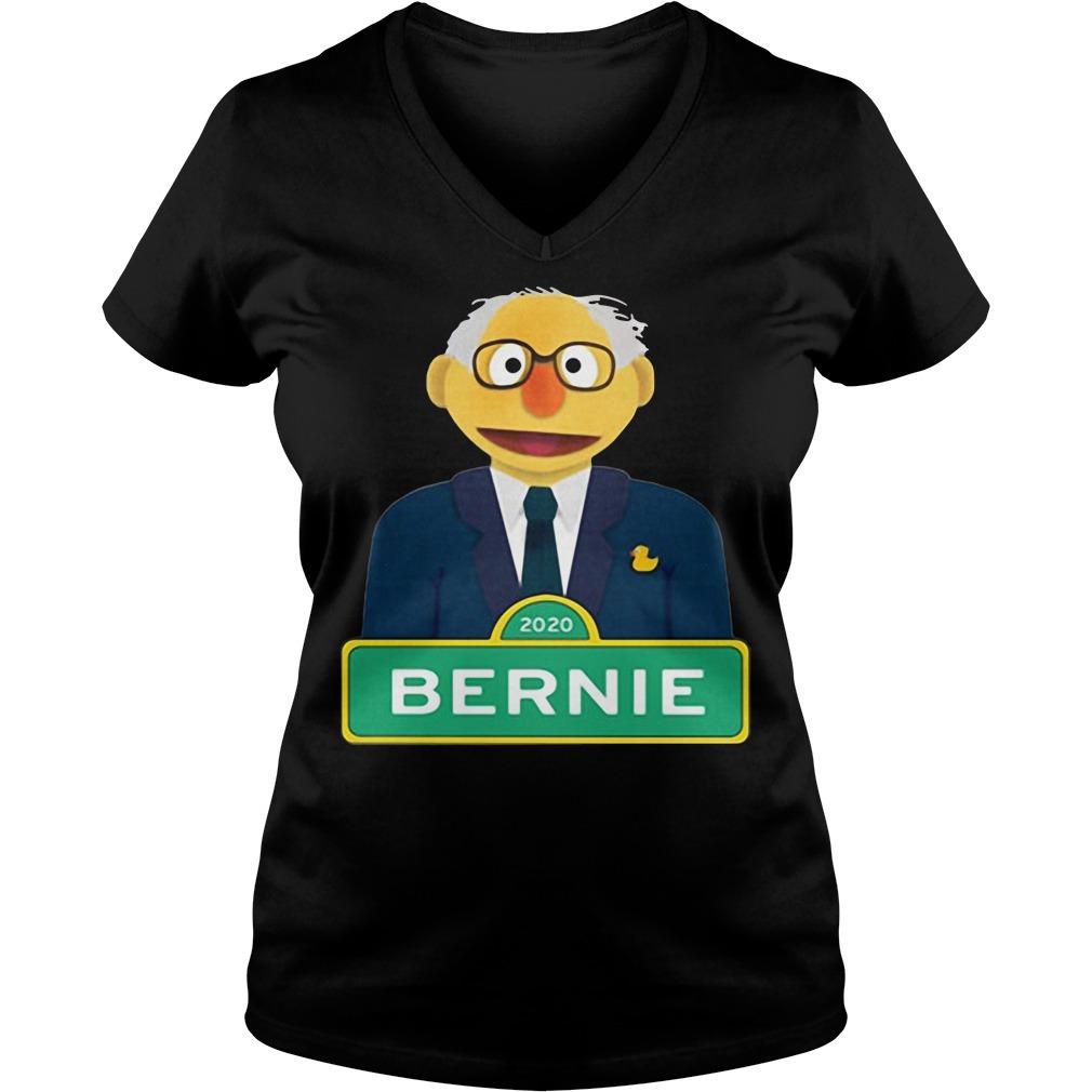 Bernie Sanders 2020 V-neck T-shirt