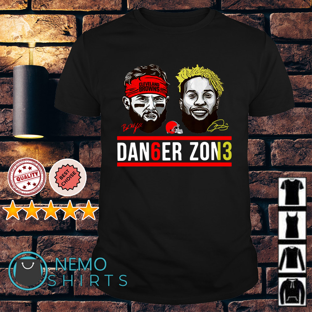 Cleveland Browns Baker Mayfield and Odell Beckham Jr dan6er zon13 shirt