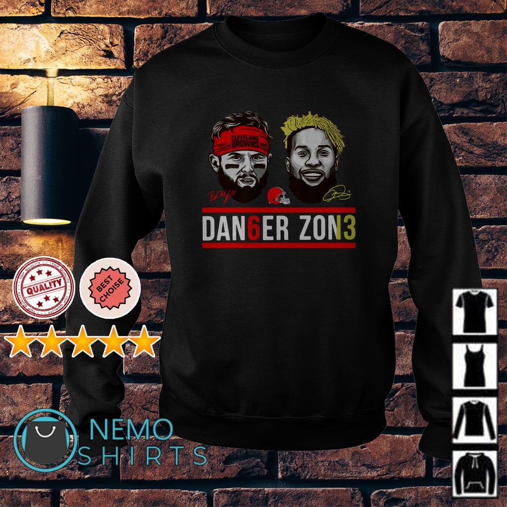 Cleveland Browns Baker Mayfield and Odell Beckham Jr dan6er zon13 Sweater