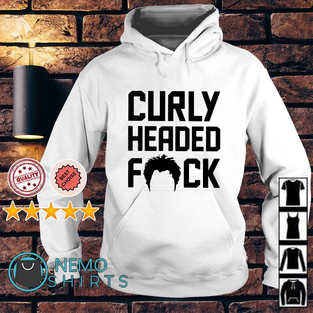 Curly Headed fuck Hoodie
