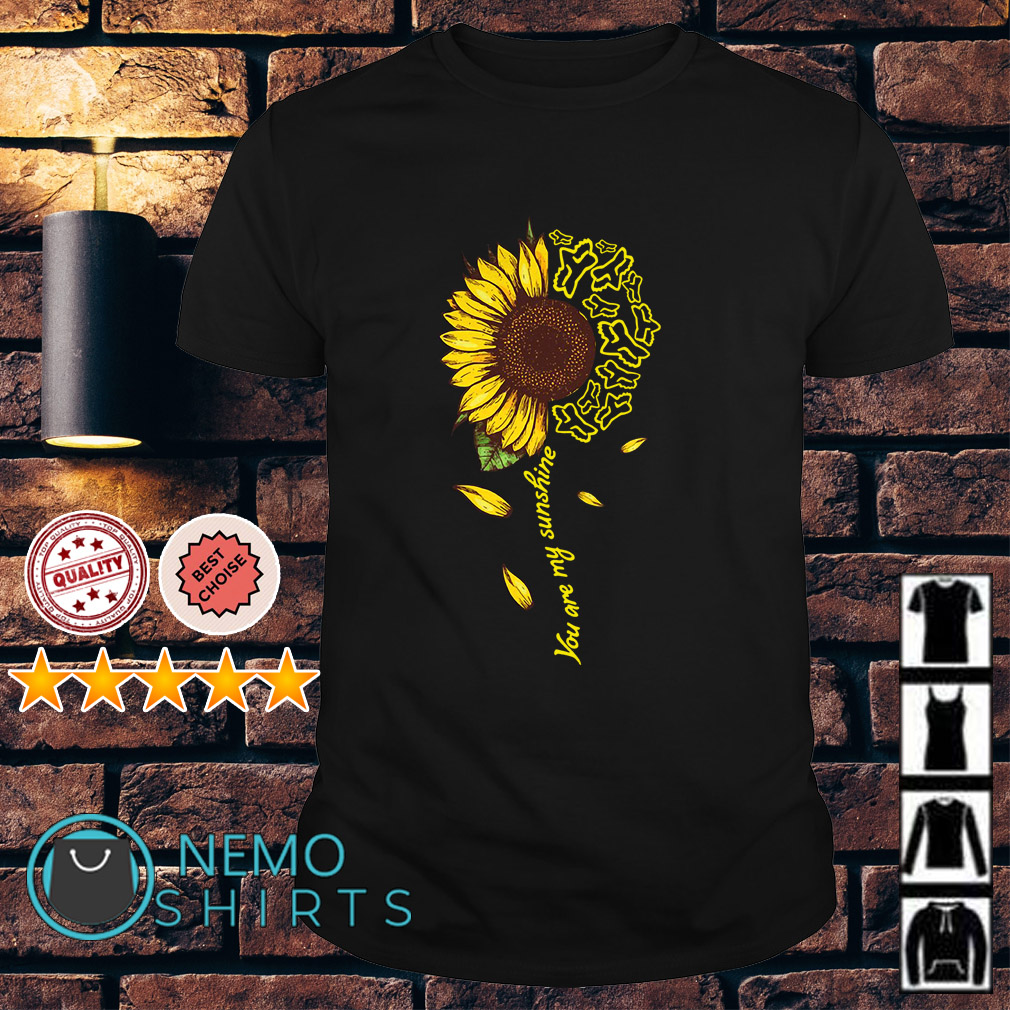Fox Racing sunflower you are my sunshine shirt