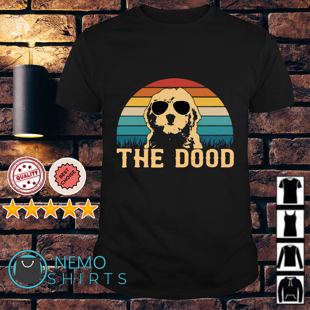 Goldendoodle the dood vintage shirt