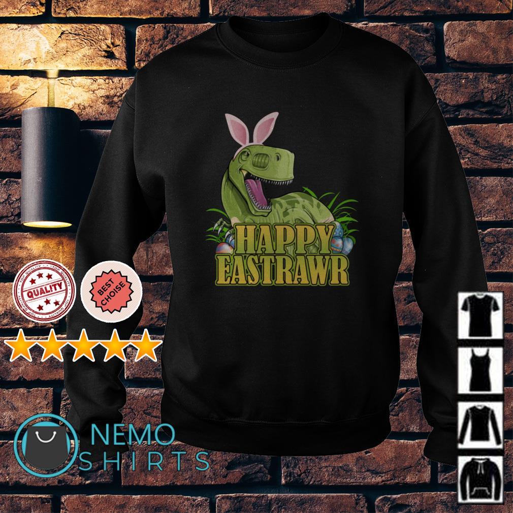 Happy Eastrawr Dinosaur Easter T-rex Sweater